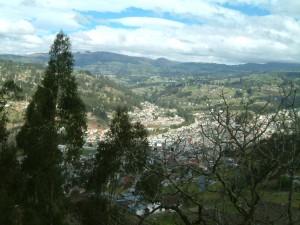 Vista de Biblián. Fuente: Seproyco