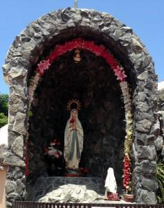 Imagen de la Virgen. Fuente: Seproyco