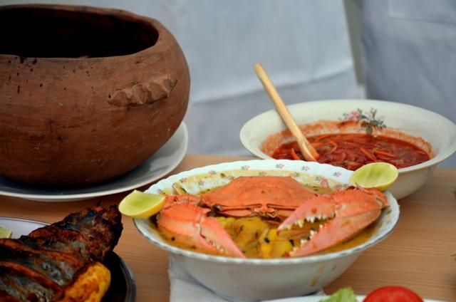 El viche de jaiba, receta reconocida en Machalilla en Entradas y Sopas