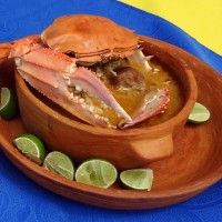Viche de jaiba, plato reconocido en la categoría Entradas y Sopas