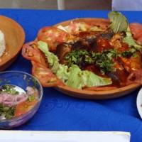 La sardina hornada, plato reconocido en la categoría Plato Fuerte