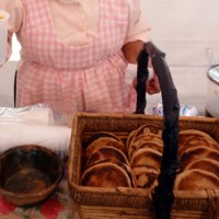 Margarita Pantoja con calostro, tortillas de trigo