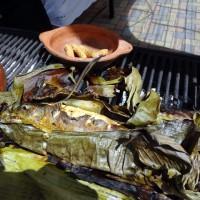 Trucha al vapor o maito, de La Casa del Marino Restaurante y Marisquera