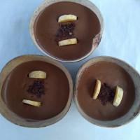 Helado de banano con chocolate. Fuente: Seproyco