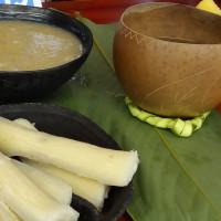 Mazamorra de fréjol. Fuente: Seproyco